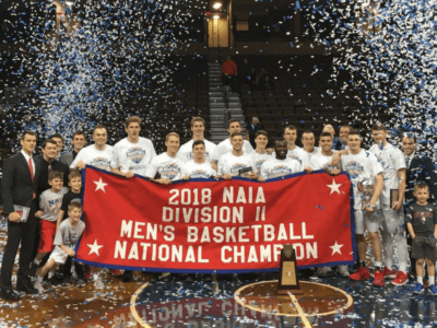 IWU men's basketball wins third national title in five years