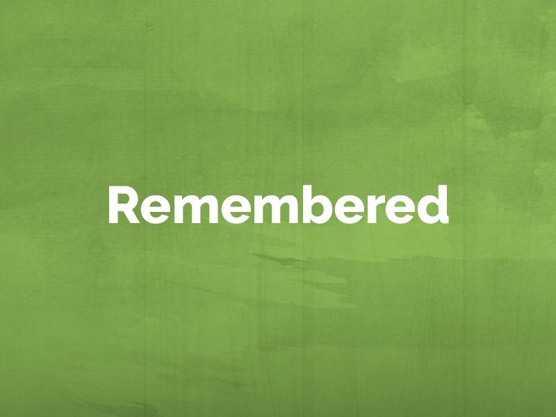 Remembered: February 27