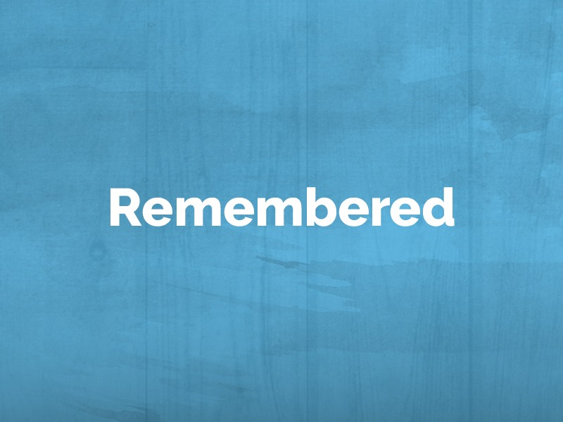 Remembered: October 14