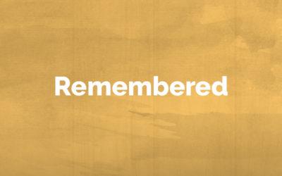 Remembered: June 3