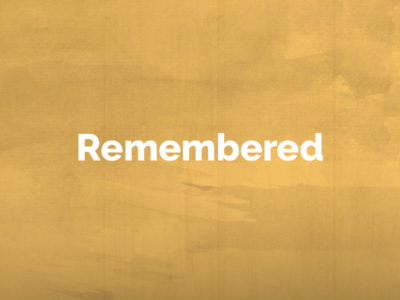 Remembered: September 2