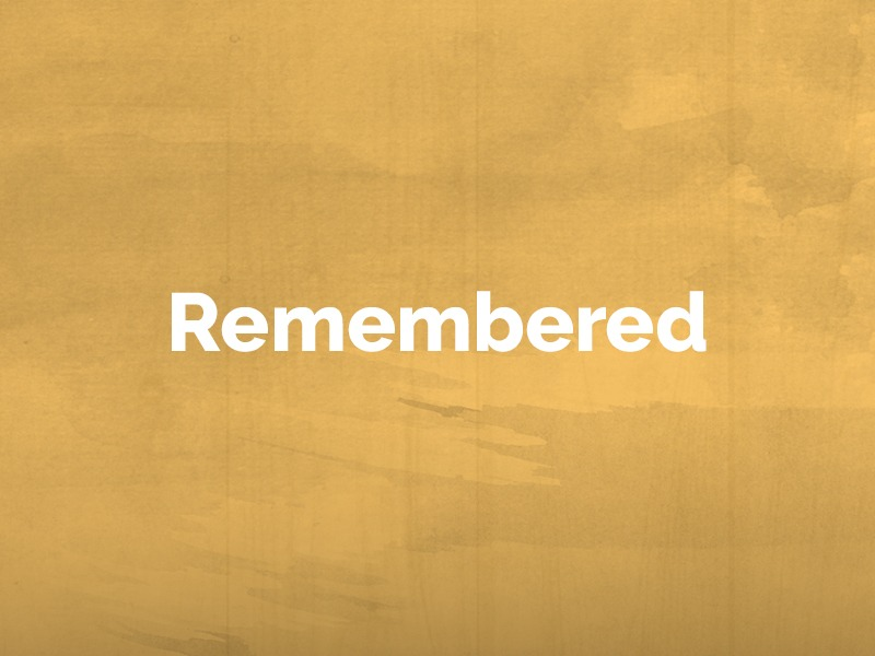 Remembered: February 11