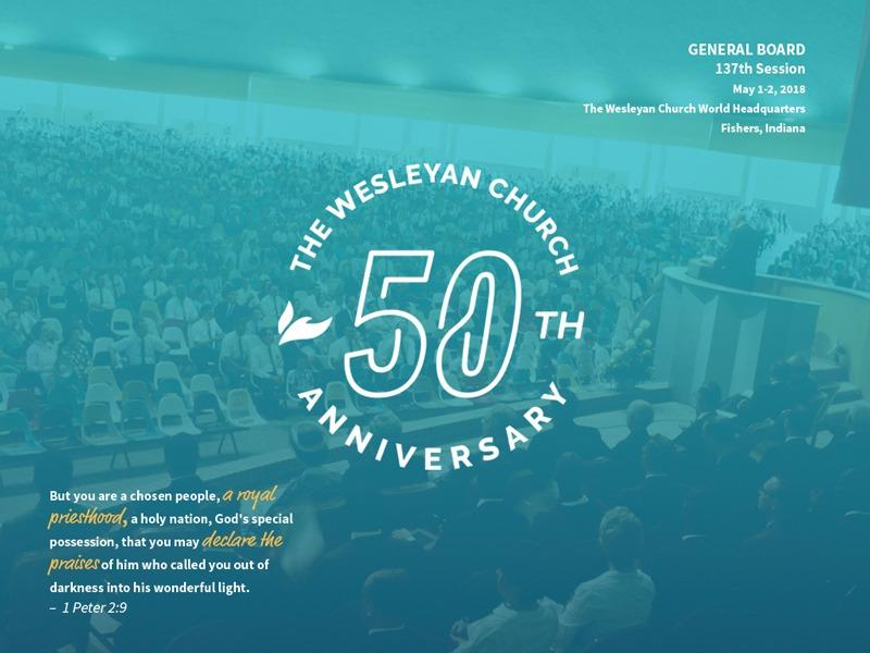 General Board celebrates 50 years of The Wesleyan Church