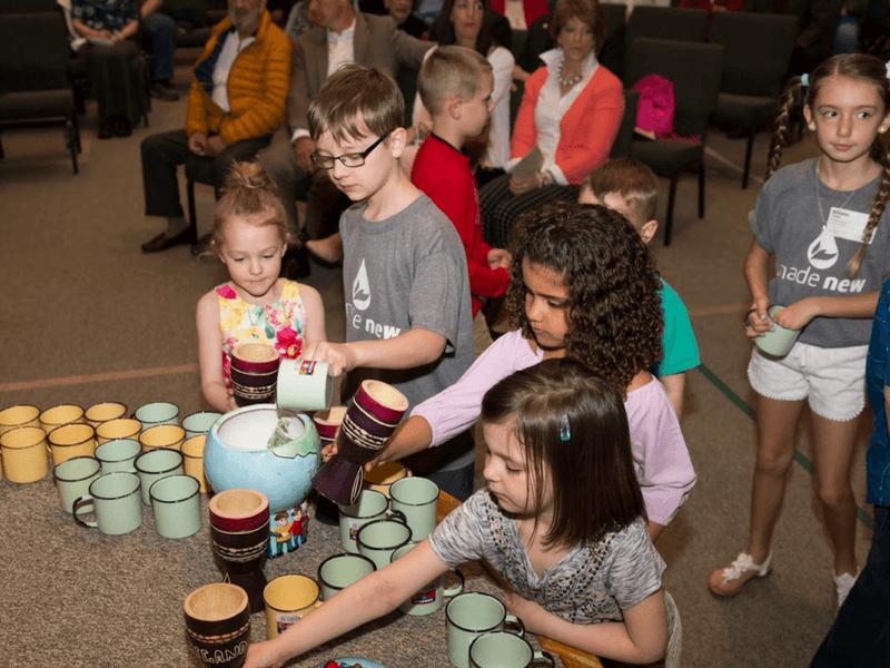 Church pocket change makes big impact