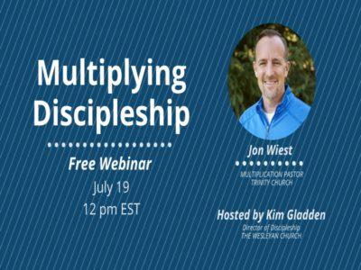 CMAD Webinar: Multiplying Discipleship