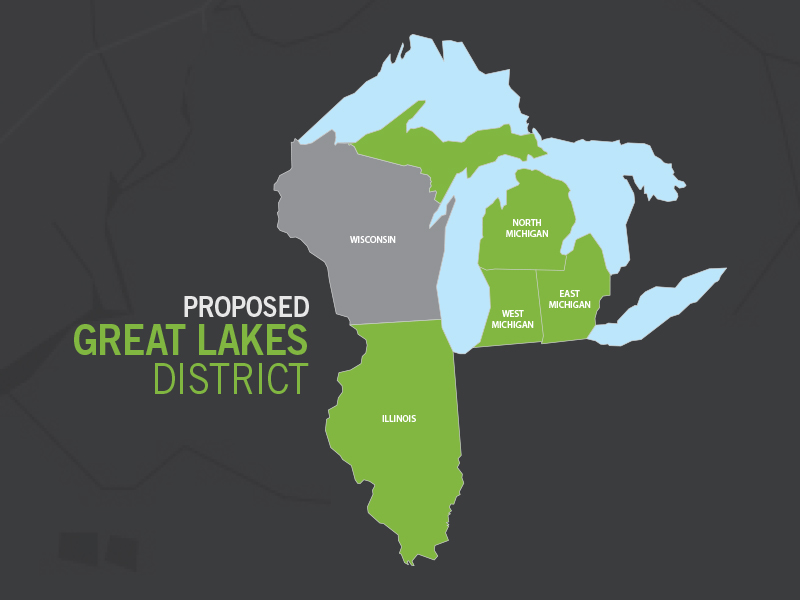 Four districts vote to merge