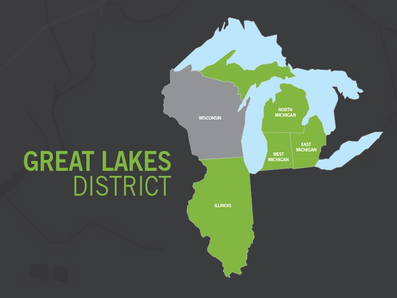 Great Lakes District merger is complete