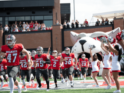 IWU makes history with first-ever football game