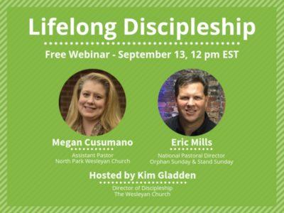 CMAD Webinar: Lifelong Discipleship