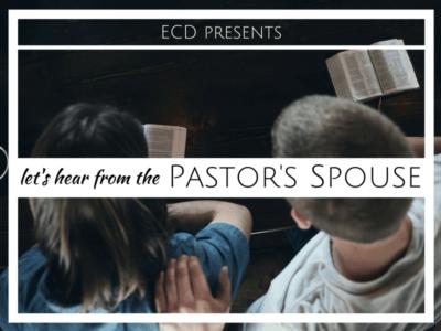 She said, he said: handing the mic to pastors' spouses