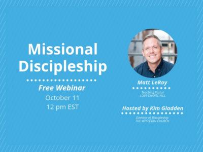 CMAD Webinar: Missional Discipleship