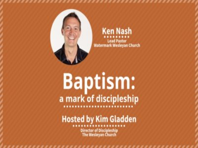 Baptism: A Mark of Discipleship Webinar