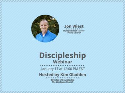 CMAD Webinar: Discipleship