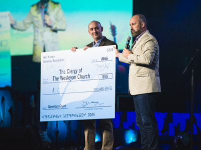 Lilly Endowment awards a million-dollargrant for TWC pastors