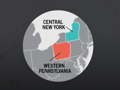 Central New York and Western Pennsylvania talk merger