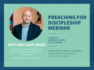 Preaching for Discipleship Webinar