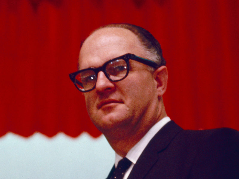 Former General Superintendent Robert W. McIntyre passes