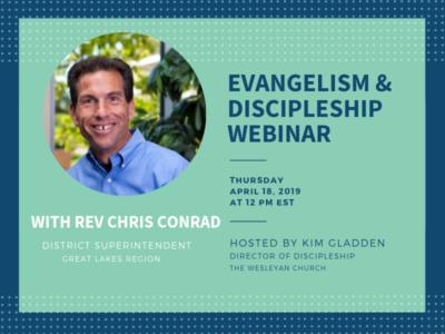 Evangelism and Discipleship Webinar