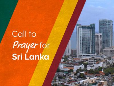 General Superintendent calls for prayer — Sri Lanka