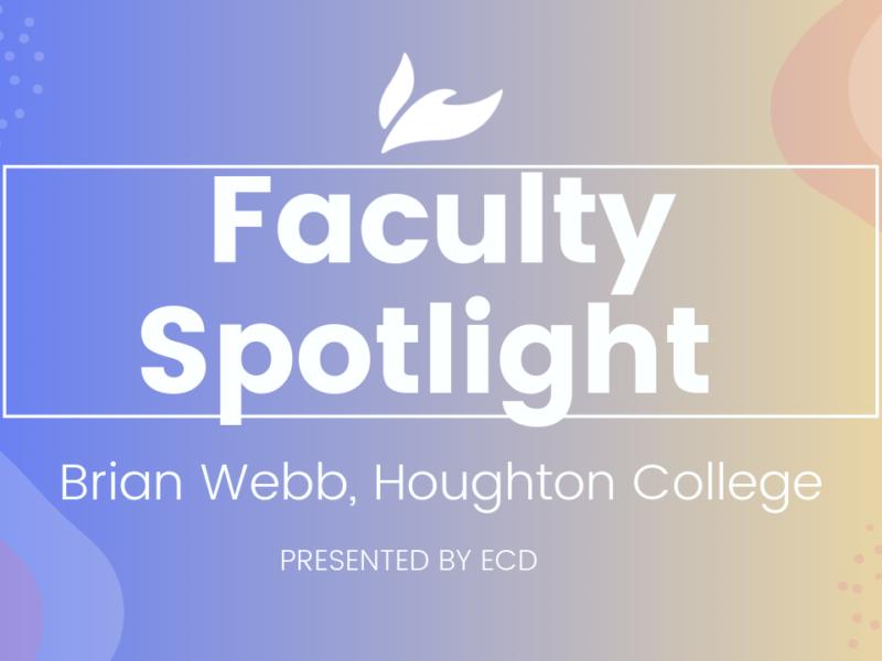 Wesleyan Faculty Spotlight: Brian Webb