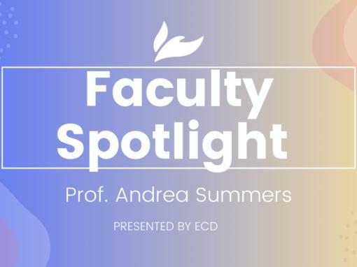 SWU Faculty Spotlight