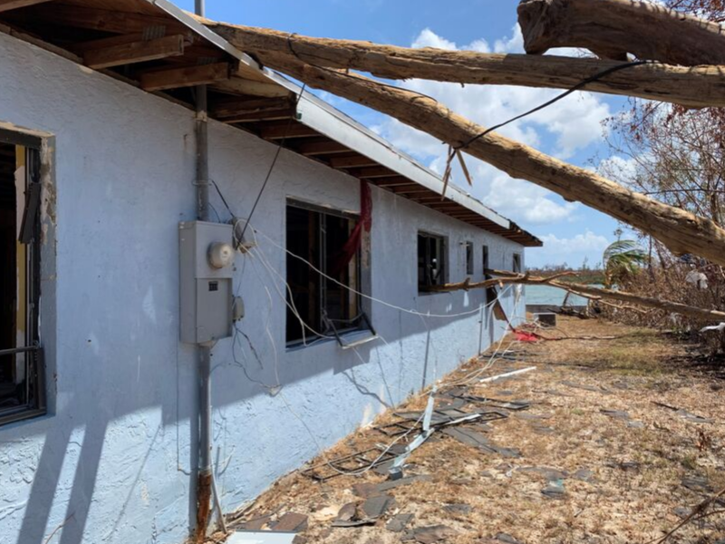 Superintendent reports first look at Bahamas devastation