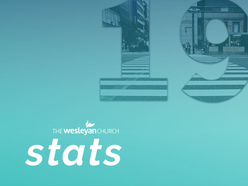 Stats reveal Wesleyans are making disciples