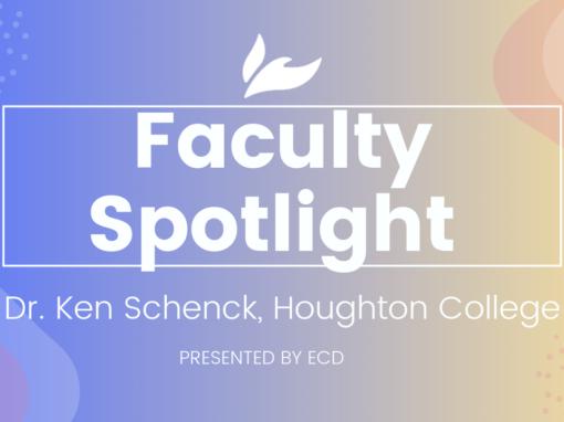 Houghton College Faculty Spotlight: Ken Schenck
