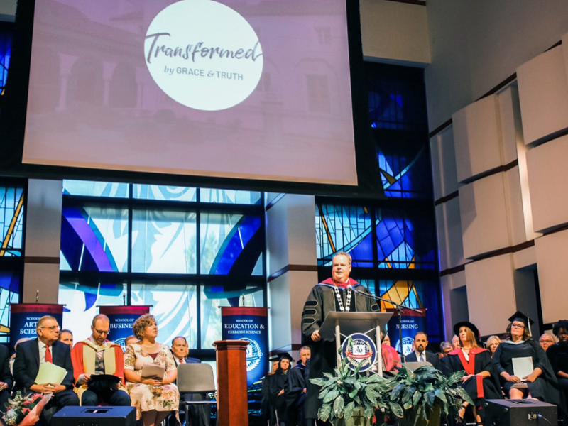 Dunn inaugurated as OKWU president