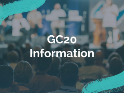 GC20 schedule and registration