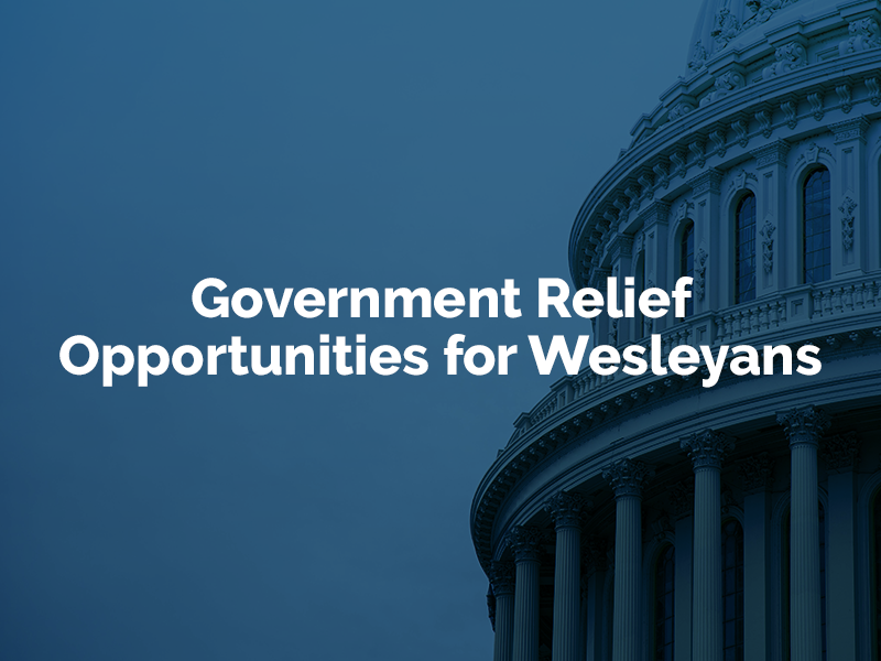 Government relief opportunities for wesleyans