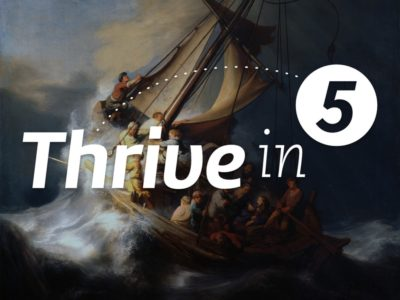 Thrive In 5: Special Coronavirus Edition