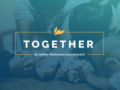 Take time to pray TOGETHER