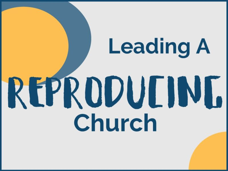 How Do I Lead My Church To Be A Reproducing Church?