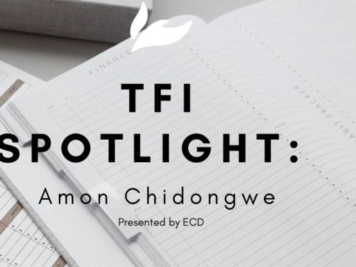 Thrive Financial Spotlight:  Amon Chidongwe