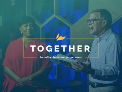 TOGETHER: TWC gathered for first online global prayer