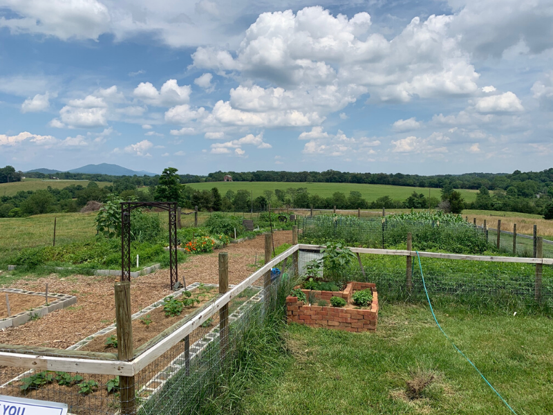 Hope and fertile ground in Virginia community