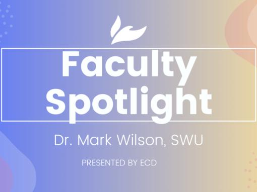 Southern Wesleyan Faculty Spotlight: Mark Wilson
