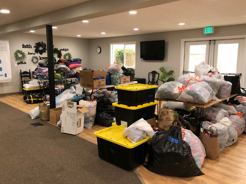 Oregon church provides relief during wildfires