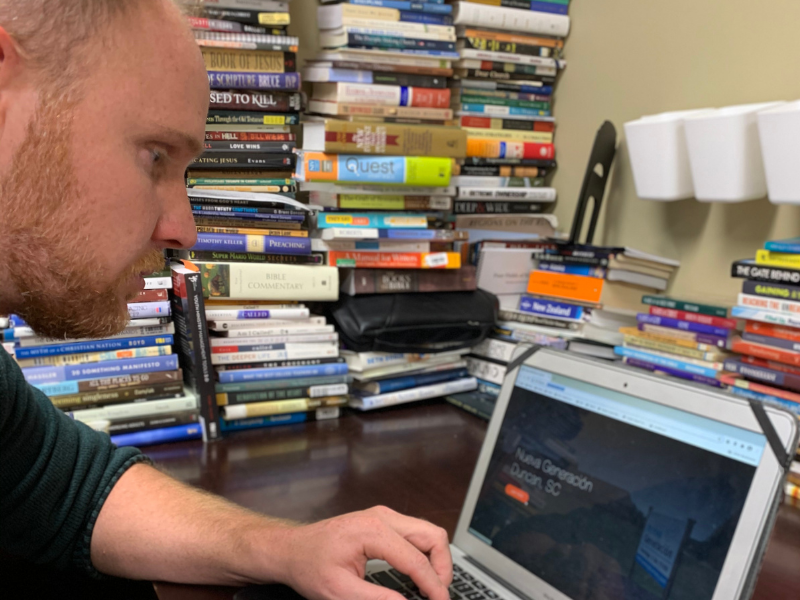 SWU professor helping churches create online presence