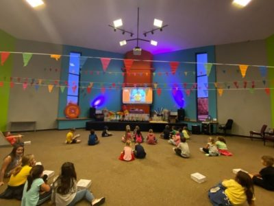Students D.I.V.E into the Word after school