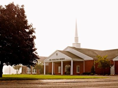 """Church """"up the hill""""now known in small town"""
