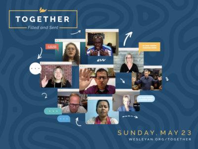 Together: filled and sent