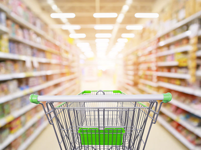 Grocery cart pulls and emotional health
