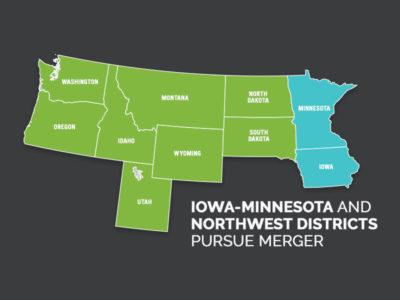 Iowa-Minnesota and Northwest Districts pursue merger
