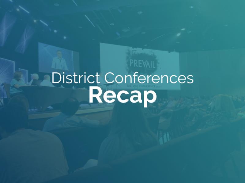 2021 District Conference recap