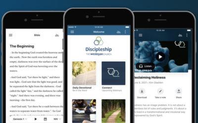 The new Wesleyan Discipleship App