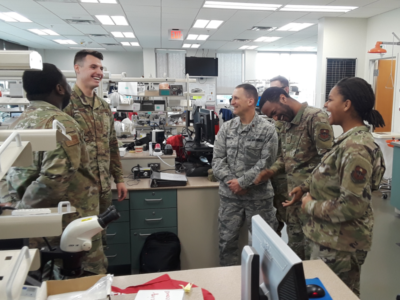 Nearly retired chaplain decides to keep serving