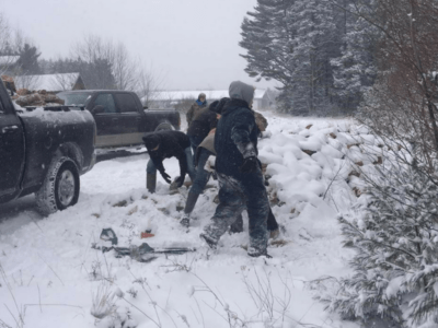 Havelock Wesleyans serve family despite bitter cold