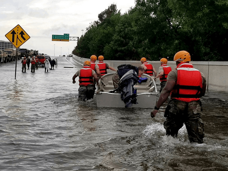 Wesleyans Mobilize to Provide Hurricane Harvey Relief and Recovery